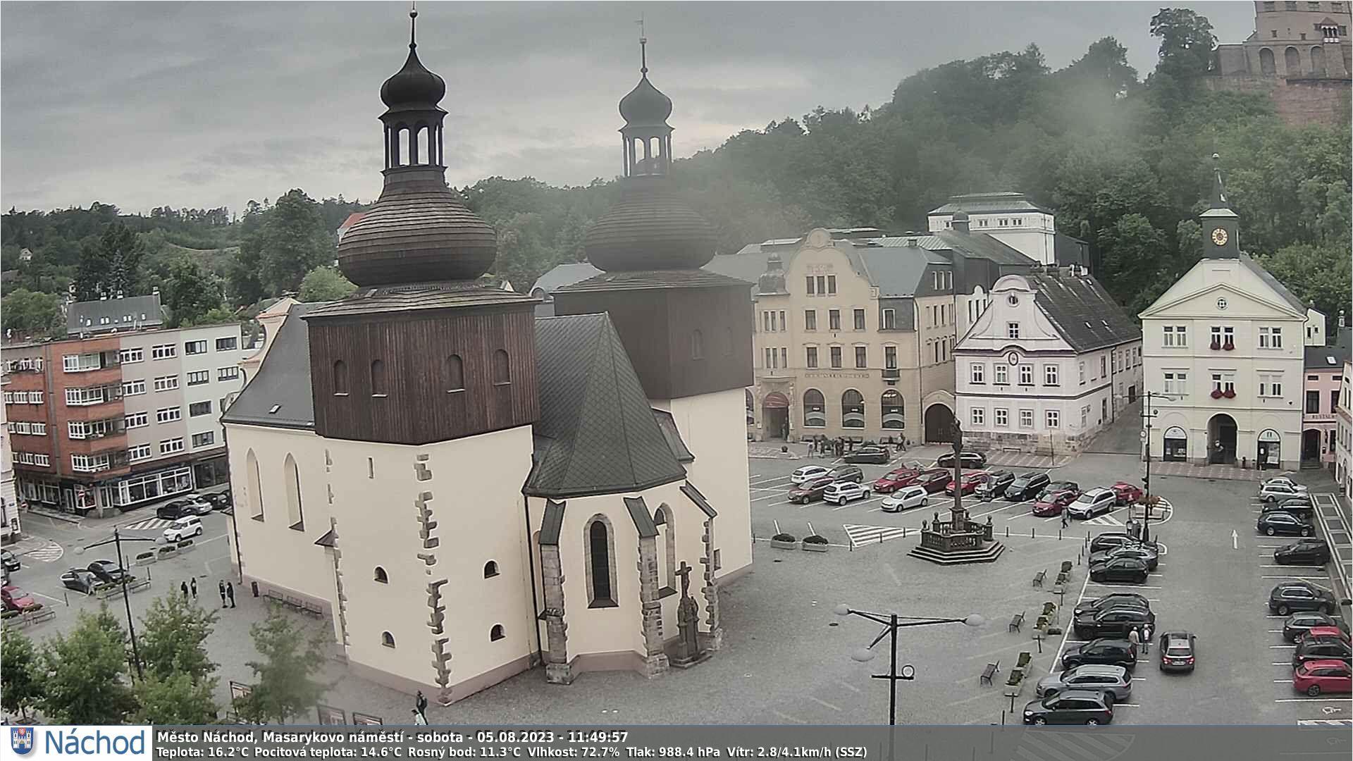Web kamera - aktuální záběr
